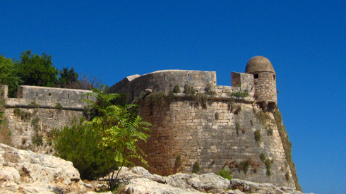 Fort de Rethymnon, Crête