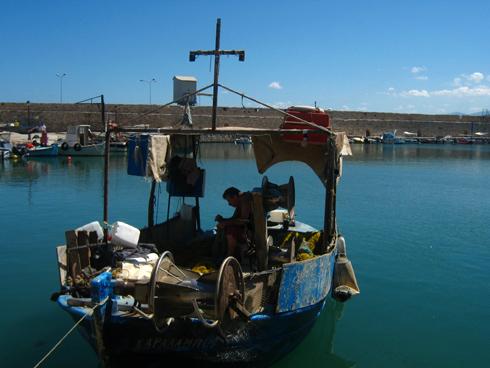Port de Rethymnon, Crête