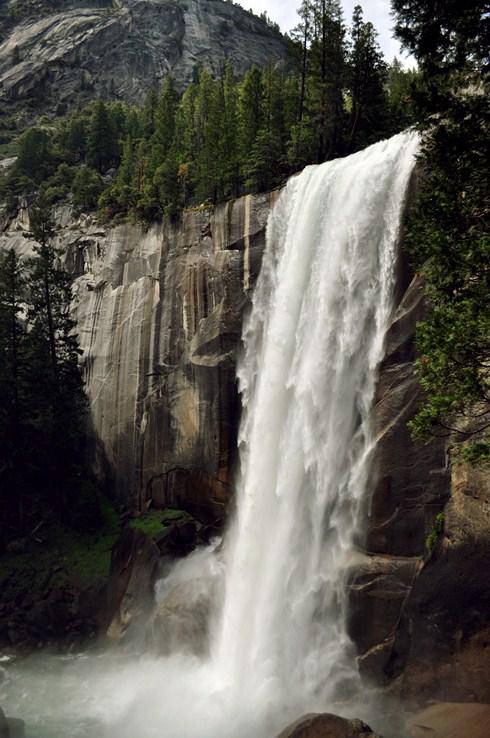 Yosemite Top of Vernal Fall