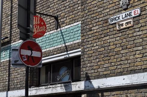 Clet Abraham Brick Lane
