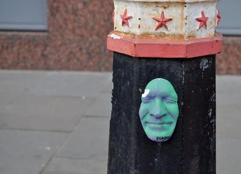 Gregos Street Art  London