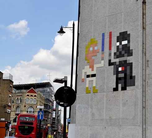Invader Star Wars London