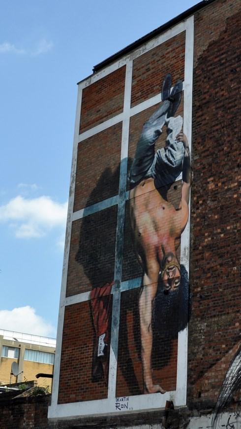 Martin Ron Street Art London