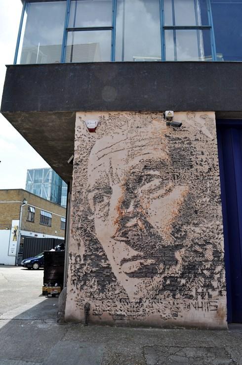Vhils Street Art London