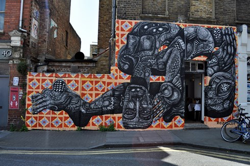 Zio Ziegler Street Art London