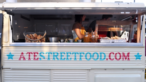 Real Food Market at the Southbank Centre, London