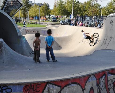 Skate Park - Park Spoor Noord Antwerpen